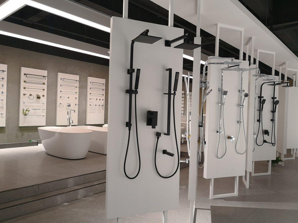 een andere showroom voor sanitair in China