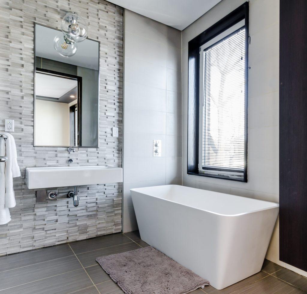 Een mooie badkamer
